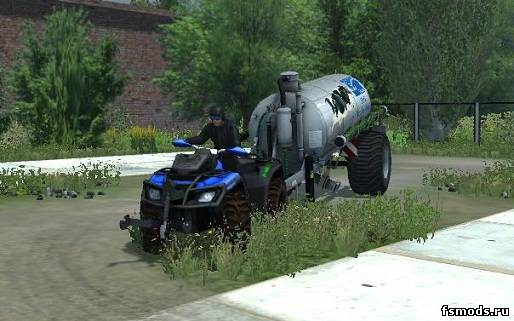 Скачать Квадроцикл Lizard ATV для Farming Simulator 2013