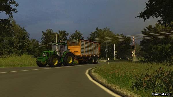 Скачать North German March Map v 0.8 для Farming Simulator 2013
