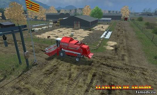 Скачать Llanuras De Aragon New v 2.0 для Farming Simulator 2013