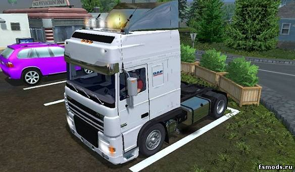 Скачать DAF XF 480 v1.4 для Farming Simulator 2013