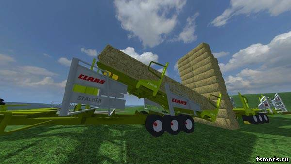 Claas Stacker v 2.0 MR для Farming Simulator 2013