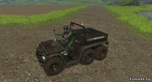 Скачать Quad Polaris 6×6 Big Boss для Farming Simulator 2013