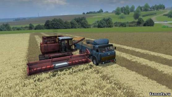 скачать карту колхоз рассвет 2 v4 для farming simulator 2013